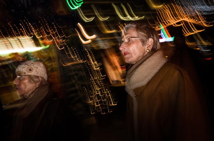 Weiihnachtsmarkt und Strassenfotografie